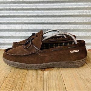 Men's Suede Leather House Shoes